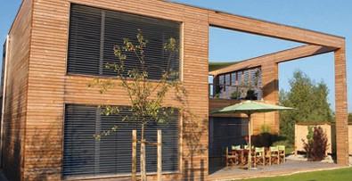 Terase sibirski macesen, fasade sibirski macesen, ograje sibirski macesen 001